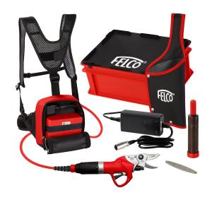 Kit completo Felcotronic 882-802G + con forbice, batteria e zaino