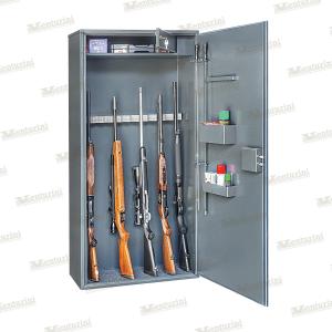 Armadio blindato Venturini per 13/14 fucili con tesoretto