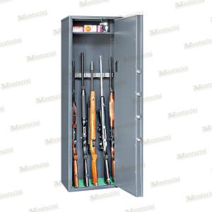 Armadio blindato Venturini per 9 fucili con tesoretto e serratura elettronica