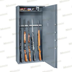 Armadio blindato Venturini per 13/14 fucili con tesoretto e serratura elettronica