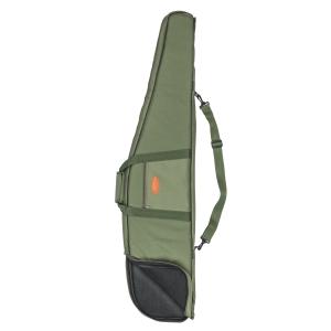 Fodero per carabina Venturini in poliestere verde con tasca esterna, tracolla regolabile amovibile e maniglia