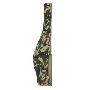 Fodero per carabina Venturini in cotone mimetico verde 100% con strappi laterali