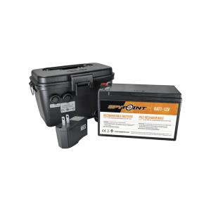 Kit Batteria Esterna 12V/7Ah + caricatore + box