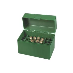 Scatola porta munizioni per carabina Venturini in plastica (32 pallottole cal. 338 L - 300 WM)