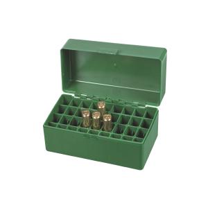Scatola porta munizioni per carabina Venturini in plastica (36 pallottole cal. Short magnum)