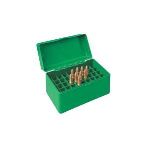 Scatola porta munizioni per carabina Venturini in plastica (50 pallottole cal. 338 L - 300 WM)