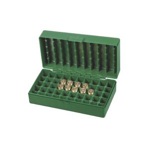 Scatola porta munizioni per pistola Venturini in plastica (50 pallottole cal. 45 ACP - 40 SW)