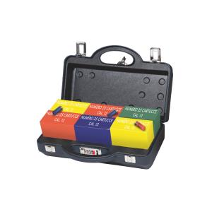 Valigetta porta cartucce Venturini in ABS termoformata per trasporto aereo (6 scatole x 25 cartucce cal. 12)