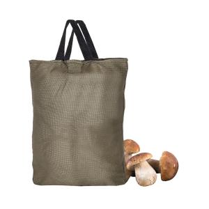 Borsa porta funghi tascabile Venturini in tessuto forato con manici