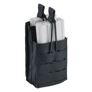 Taschina porta caricatore doppio per fucile d'assalto Defcon 5 Shadow M4 Split Nero
