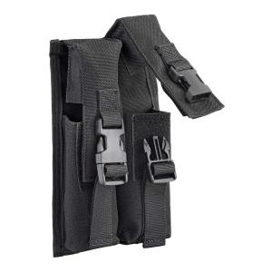 Porta caricatore doppio per MP5 Defcon 5 Nero