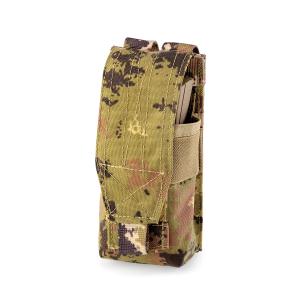 Porta caricatore singolo Defcon 5 M4+AK Vegetato Italiano