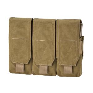 Porta caricatore triplo Defcon 5 M4+AK Coyote Tan