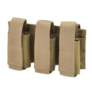Porta granate triplo Defcon 5 Coyote Tan