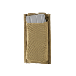 Tasca elastica singola porta caricatore da arma lunga Defcon 5 Coyote Tan