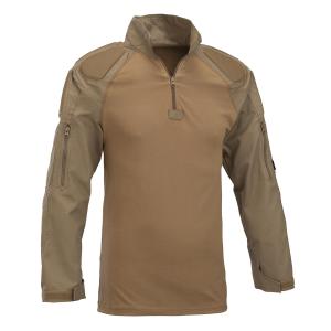 Combat shirt Defcon 5 con protezioni nelle braccia - Coyote Tan