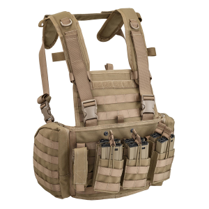 Gilet tattico Defcon 5 Chest Rig Marte - Coyote Tan