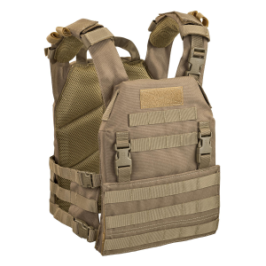 Gilet tattico Defcon 5 Porta placche Thunder - Coyote Tan
