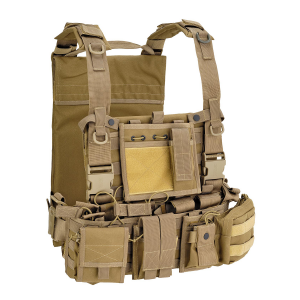 Gilet tattico Defcon 5 Recon Harness - Coyote Tan