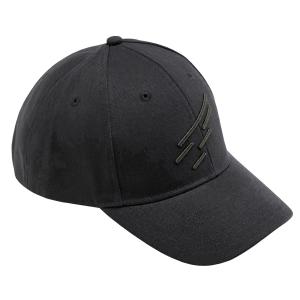 Cappellino da baseball bicolore con logo D. Five - Nero e Verde Militare