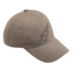 Cappellino da baseball monocolore con logo D. Five - Coyote Tan