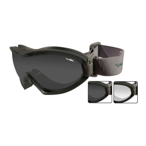 Goggle Wiley X Nerve Verde Militare + 2 lenti