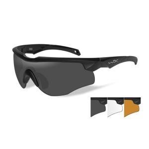 Occhiali tattici da sole Wiley X Rogue + 3 lenti