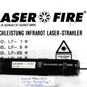 Laser ad infrarosso Gutzeit Laser-Fire LF-40 USATO